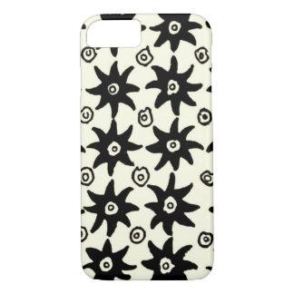 Vintage Batik Stars Textile Wallpaper Pattern iPhone 8/7 Case