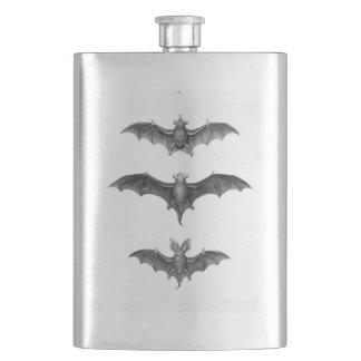 Vintage Bats Gothic Punk Classic Flask