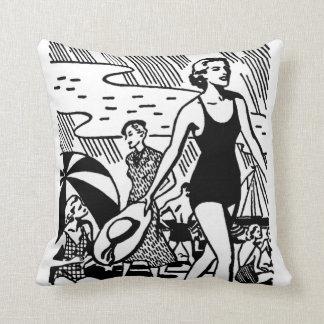 Vintage Beach Summer Cushion