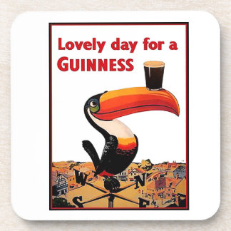 Vintage Beer Advert Coaster