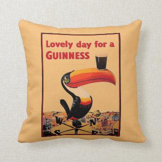 Vintage Beer Advert Cushion