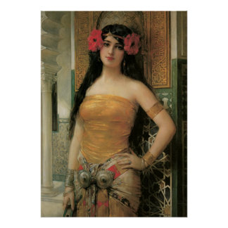 Vintage Belle Poster