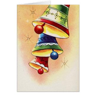 vintage bells  Christmas_Card Card