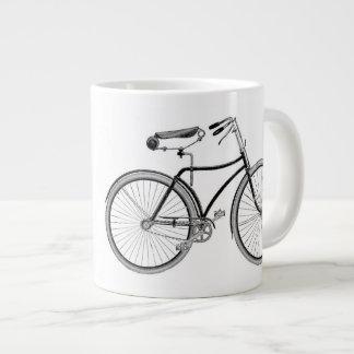 Vintage Bicycle Coffee Mug Antique/Retro Cycling Extra Large Mugs