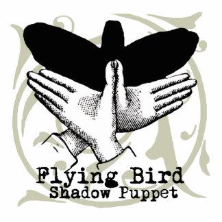 Vintage Bird Hand Puppet Shadow Games Standing Photo Sculpture