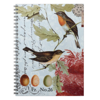 Vintage Birds of a Feather...notebook