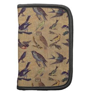 Vintage Birds Folio Planner