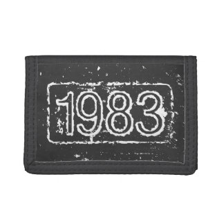 Vintage birthday wallet for men | Grunge look
