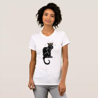 Vintage Black Cat Tournee Du Chat Noir T-Shirt