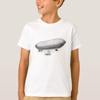 Vintage Blimp Old Zeppelin Retro Hot Air Balloon T-Shirt