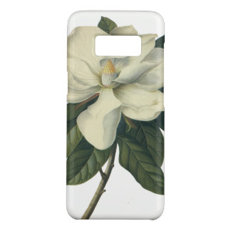 Vintage Blooming White Magnolia Blossom Flowers Case-Mate Samsung Galaxy S8 Case