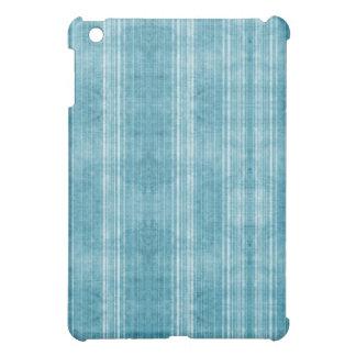 Vintage blue stripes iPad mini cover