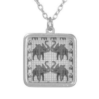 Vintage BNW Collectors Value ELEPHANT Art Gifts Personalized Necklace