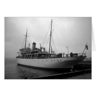 Vintage Boat by Shawna Mac Card