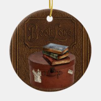 Vintage Book Lover's Ornament