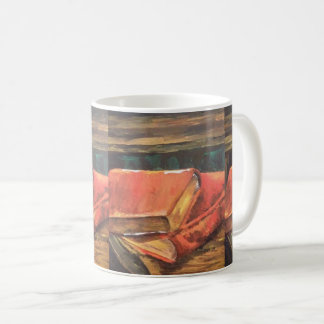 vintage book painting on a Mug