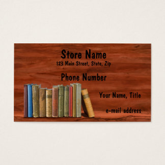 Vintage Books Business Card
