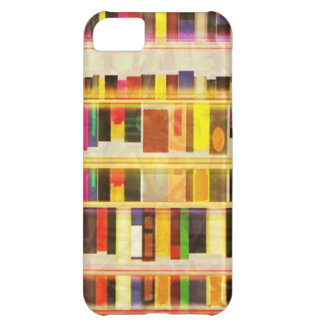 Vintage Bookshelf n Books Cover For iPhone 5C