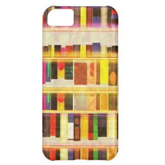 Vintage Bookshelf n Books iPhone 5C Case