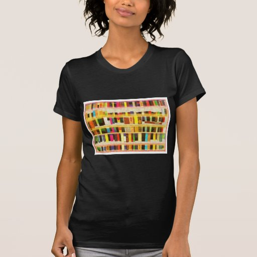 Vintage Bookshelf n Books Shirt