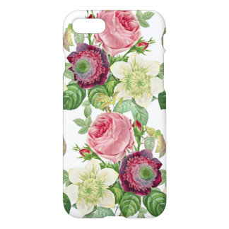 Vintage Botanical Blossom Country Chic iPhone 7 Case