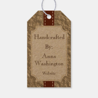 Vintage Bronze Handcrafted Tag