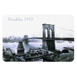 Vintage Brooklyn NYC 1913 Magnet