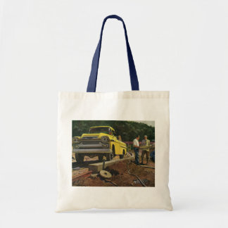 Vintage Business Architect Construction Contractor Tote Bag