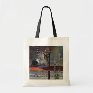 Vintage Business, Architects and Construction Tote Bag