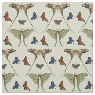 Vintage Butterflies Fabric