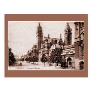 Vintage ca 1895 London The Imperial Institute Postcard