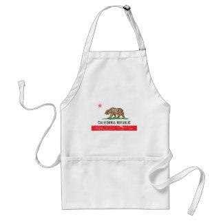 Vintage California Flag Standard Apron