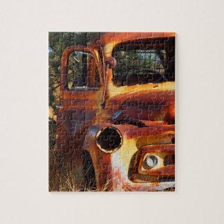 Vintage car jigsaw puzzle