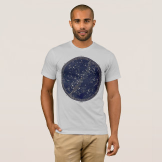 Vintage celestial map astronomy print space cosmos T-Shirt