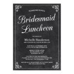 Vintage Chalkboard Bridal Shower Luncheon 13 Cm X 18 Cm Invitation Card
