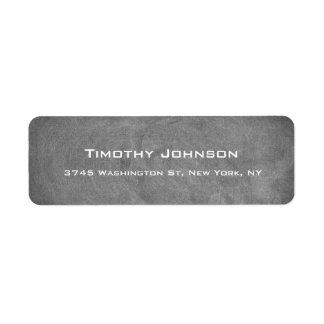 Vintage Chalkboard Creative Professional Modern Return Address Label
