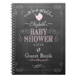 Vintage Chalkboard Look- Baby Shower Guest Book-
