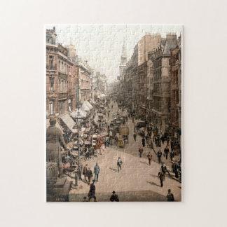 Vintage Cheapside, City of London jigsaw Jigsaw Puzzle