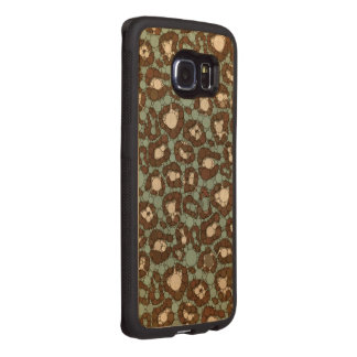Vintage Cheetah Wood Phone Case