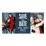 Vintage Chic Save The Date Photo Cards