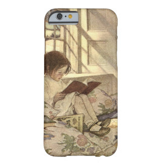 Vintage Child Reading a Book, Jessie Willcox Smith Barely There iPhone 6 Case