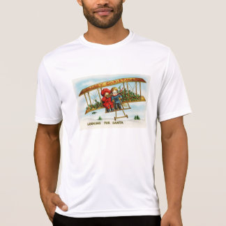 Vintage Christmas Children Looking For Santa T-Shirt