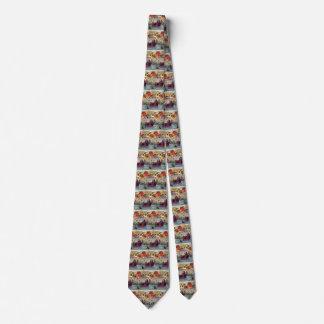 Vintage Christmas, Love and Romance Sleigh Tie