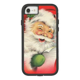 Vintage Christmas Santa Claus Case-Mate Tough Extreme iPhone 8/7 Case