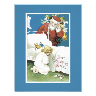 Vintage Christmas Wishes Personalized Flyer