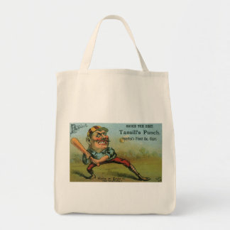Vintage Cigar Label, Sports Baseball Tansill Punch Bags