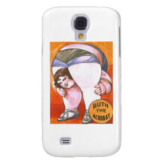 Vintage Circus Acrobat Samsung Galaxy S4 Cover