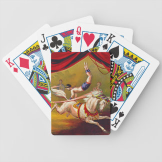 Vintage Circus Ad 1875 Poker Deck