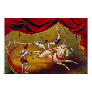 Vintage Circus Ad 1875 Posters