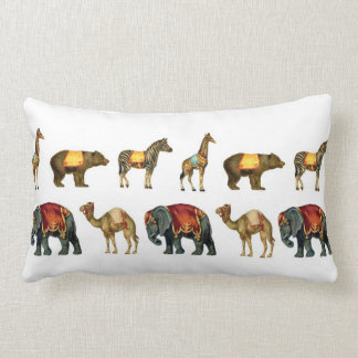 Vintage Circus Animals on Parade Pillow Cushions